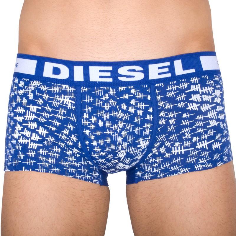 Pánské Boxerky Diesel Hero Fit Blue Jail M
