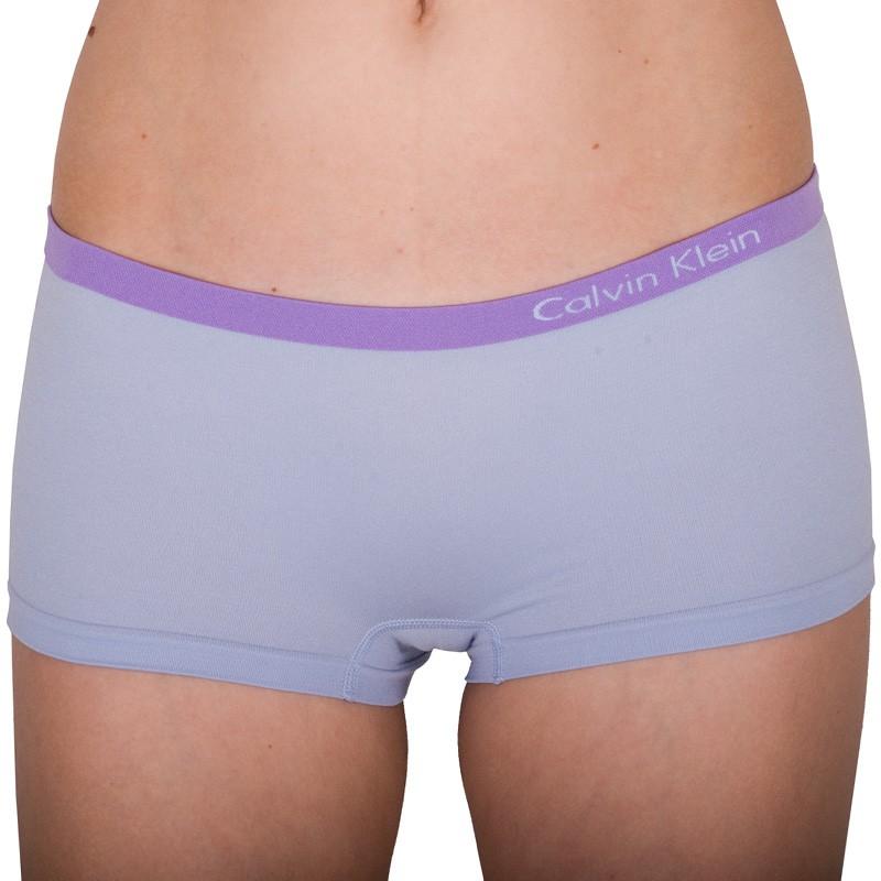 Dámské Bezešvé Kalhotky Calvin Klein Hipster Lila