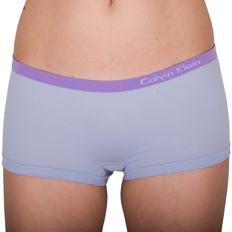 Dámské kalhotky Calvin Klein Seamless hipster fialové