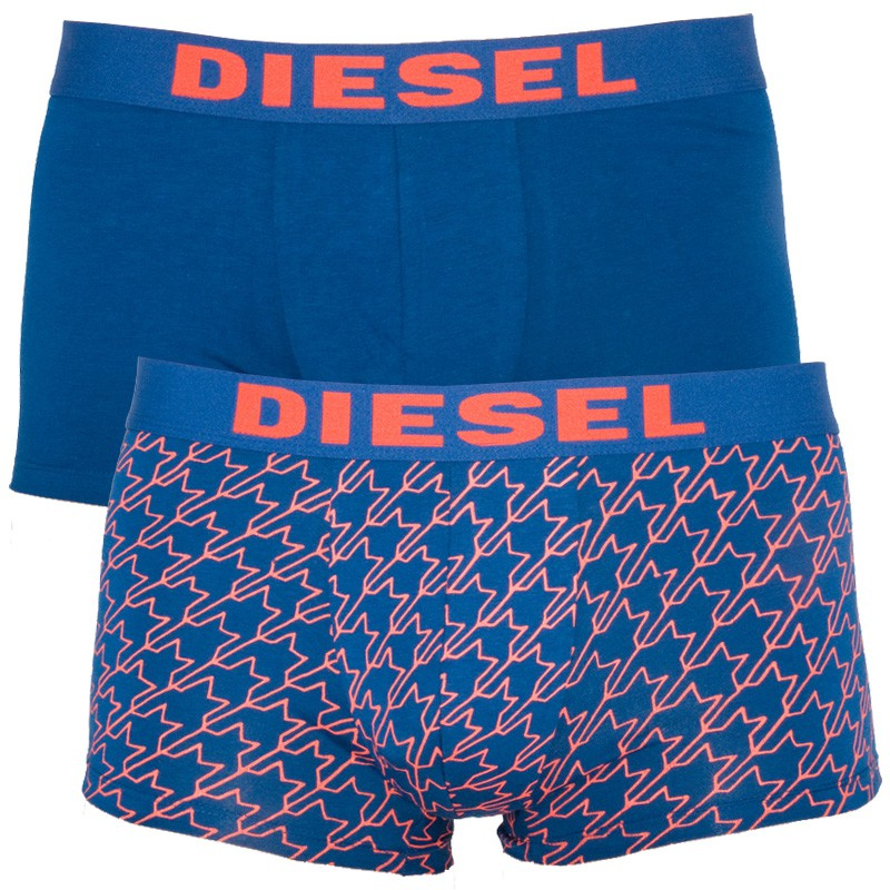 2Pack Diesel Boxerky Shawn Boxers Blue Red XL