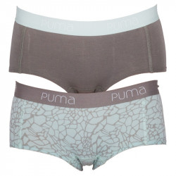 2Pack Dámské Kalhotky Puma Mini Short Fair Aqua