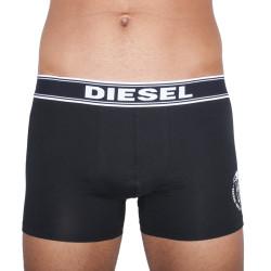 Pánské Boxerky Diesel The Essential Long Boxer Black Logo