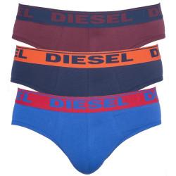 Pánské Slipy Diesel Fresh&Bright Dark Blue, Burgundy, Blue