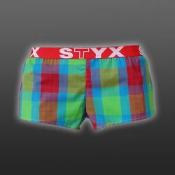 Dámské Trenýrky Styx Sport Zelená Kostka