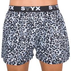 Pánské trenky Styx art sportovní guma gepard (B551)