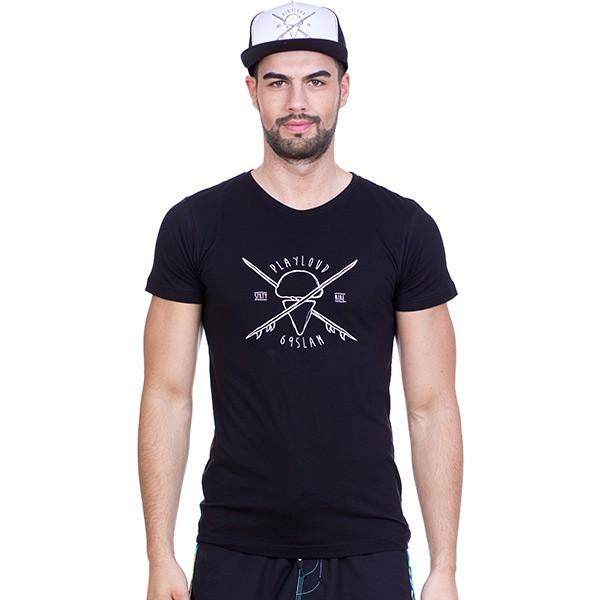 Pánské tričko 69SLAM Short Hipster Black M