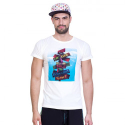 Pánské tričko 69SLAM Short Dream Places White