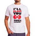 Pánské tričko 69SLAM Short Slam 69 White