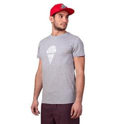 Pánské tričko 69SLAM Short Slam Ice Cream Writi Grey