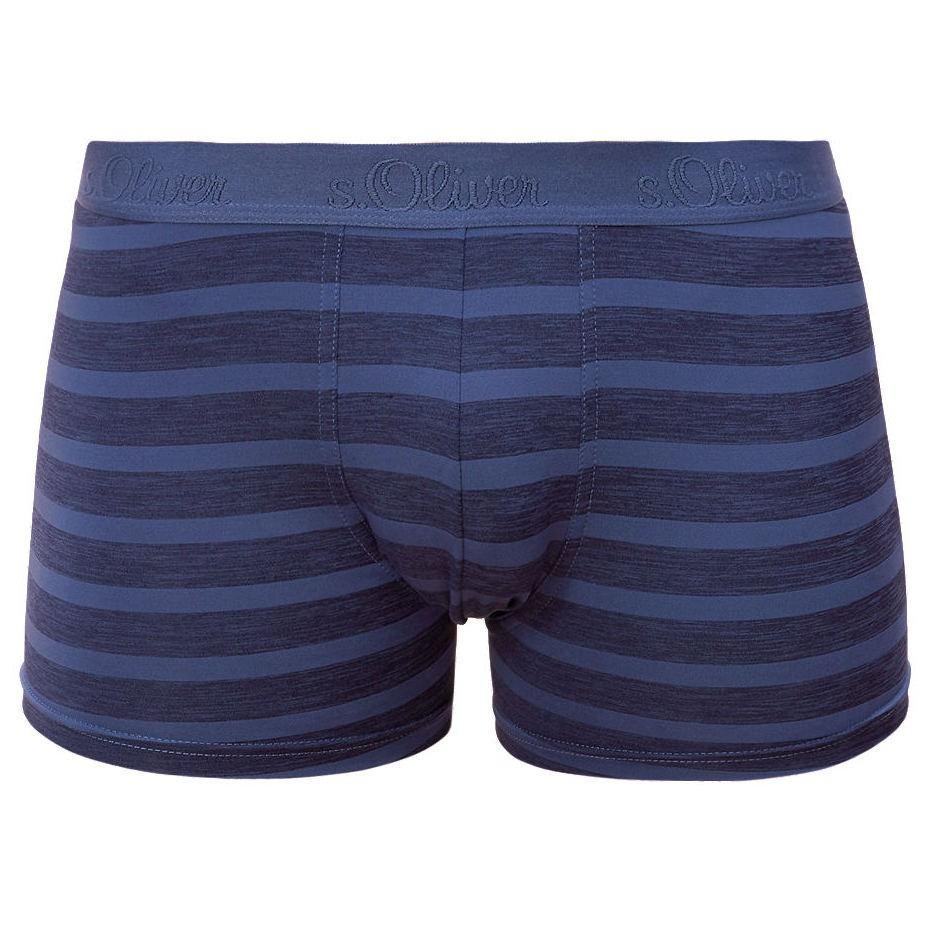 Pánské Boxerky S.Oliver Blue Multicolored Stripes