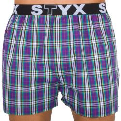 Pánské trenky Styx sportovní guma vícebarevné (B525)
