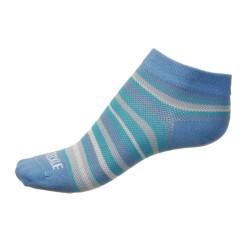 Dámské ponožky PHUSECKLE modro/bílé pruhované
