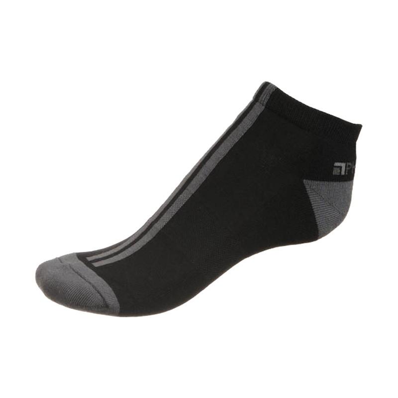 Ponožky Phuseckle Černé Šedé Pruhy