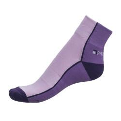 Dámské ponožky PHUSECKLE sv.fialovo/fialové půlené