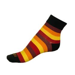 Dámské ponožky PHUSECKLE barevné pruhy