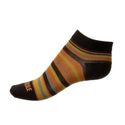 Ponožky Phuseckle Černé Žluté Pruhované