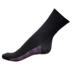Dámské ponožky PHUSECKLE černé/spodní kostka