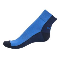 Pánské ponožky PHUSECKLE tm.modro/modré půlené