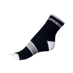 Ponožky Phuseckle Černé Bílé