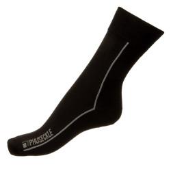Pánské ponožky PHUSECKLE černé / linka