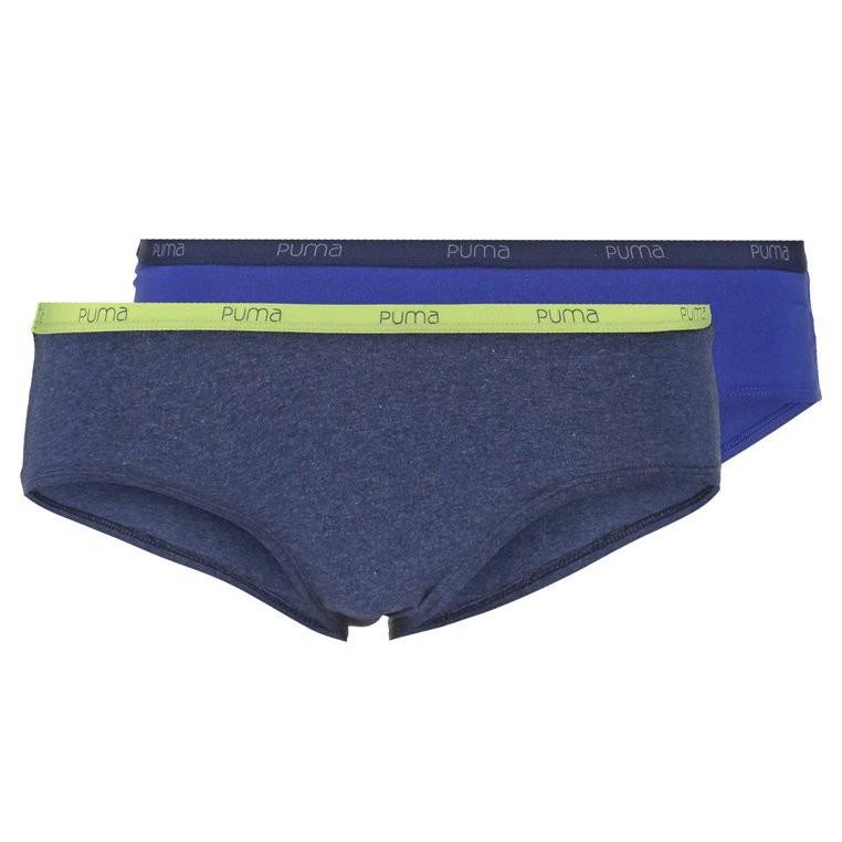 2Pack Dámské Kalhotky Puma Basic Hipster Royal Blue