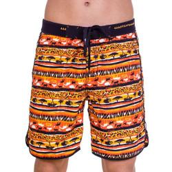 Pánské Plavky 69SLAM Krátké Boardshort Medium Savana Orange