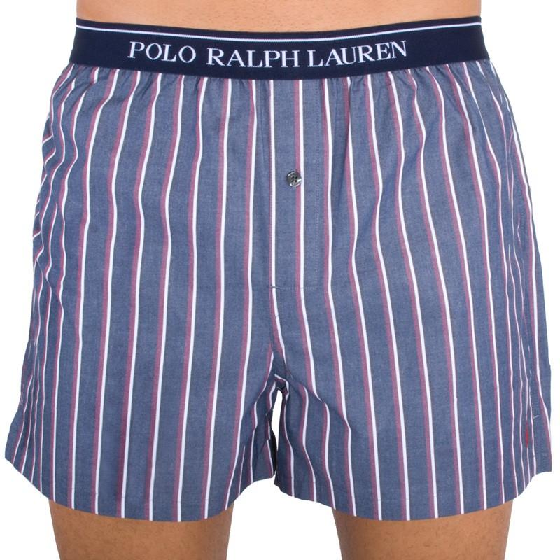 Pánské Trenýrky Polo Ralph Lauren Grey Stripes