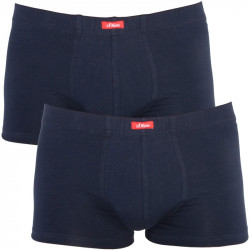 2PACK Pánské Boxerky S.Oliver Basic Dark Blue
