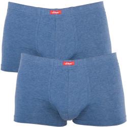 2PACK Pánské Boxerky S.Oliver Red Label Blue
