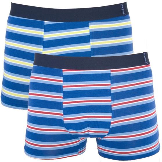 2PACK pánské boxerky Molvy vícebarevné (KP-043-BEU)