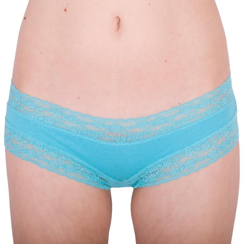 Dámské Kalhotky Victorias Secret Cheeky Turquoise