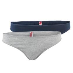 2PACK Dámské Kalhotky S.Oliver Blue Taupe