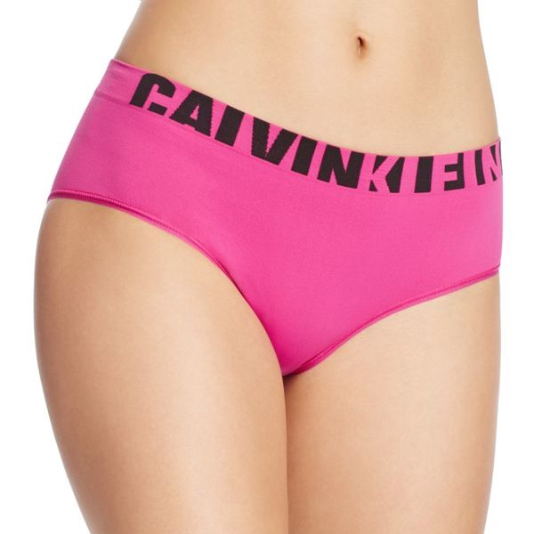 Dámské Kalhotky Calvin Klein Hipster Seamless Pink