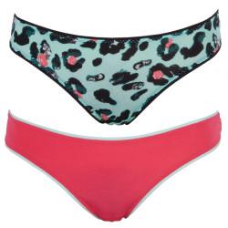 2PACK Dámské Kalhotky Diesel Bonitas Pink Green