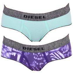 2PACK Dámské Kalhotky Diesel Mutande Oxy Lila Green