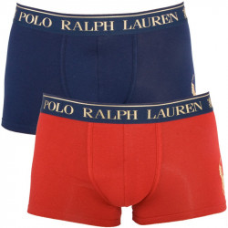 2PACK Pánské Boxerky Polo Ralph Lauren Red Blue Gift Box