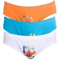 3PACK Chlapecké Slipy Disney Hledá Se Nemo