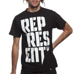 Pánské Tričko Represent Radical Stamp Black