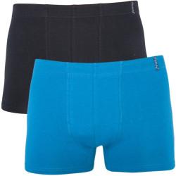 2PACK pánské boxerky Molvy vícebarevné (KP-023-BEU)