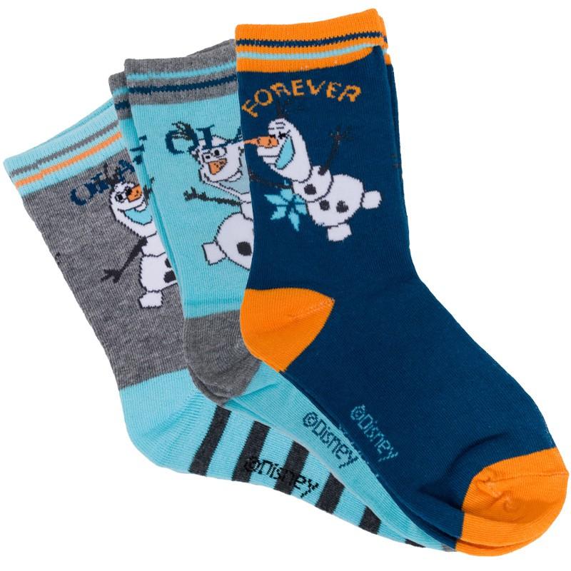 3PACK Ponožky Disney Ledové Království 27/30