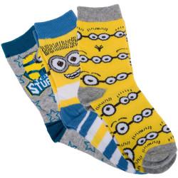 3PACK Ponožky Disney Ledové Království