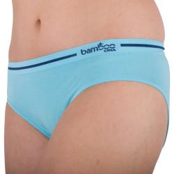Dámské Kalhotky Gina Bamboo Bezešvé Modré