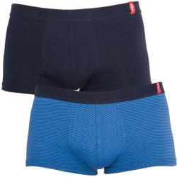 2PACK Pánské Boxerky S.Oliver Blue Stripes