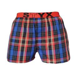 Pánské trenky Styx sportovní guma vícebarevné (B518)