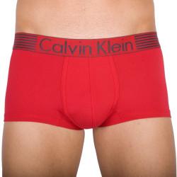 Pánské Boxerky Calvin Klein Low Rise Trunk Iron Strenght Red Dream