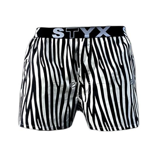 Pánské Trenýrky Styx Sport Zebra
