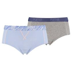 2Pack Dámské Kalhotky Puma Mini Short Brunnera Blue eb27314688