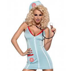 Dámský Set Obsessive Doctor Dress & Stethoscope