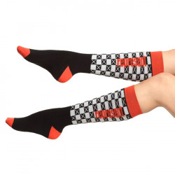 Ponožky Represent Podkolenky Socks Knee Pat One Bílé