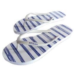 Dámské žabky 69SLAM Stripes Blue